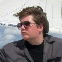 Photo of Joe Dunn on a boat