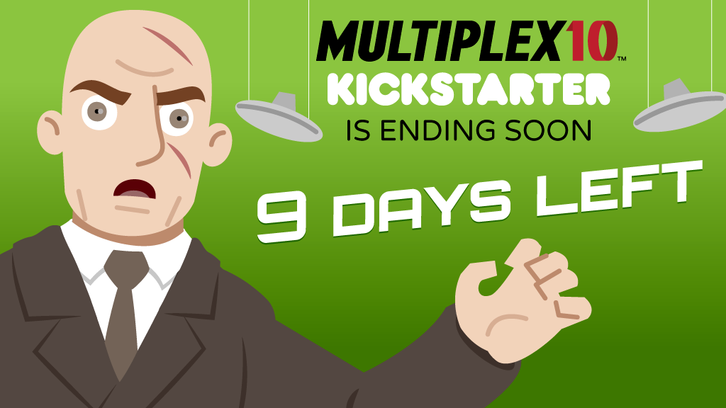 Nine days left in the funding period!