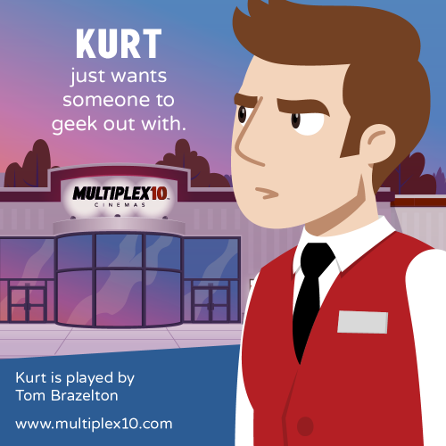 Kurt just wants someone to geek out with.