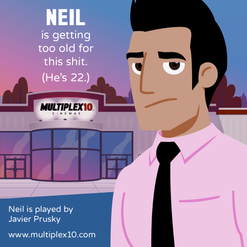 Neil is getting too old for this shit. (He's 22.)